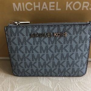 NWT Michael Kors Small Coin pouch w/Id and keyfob